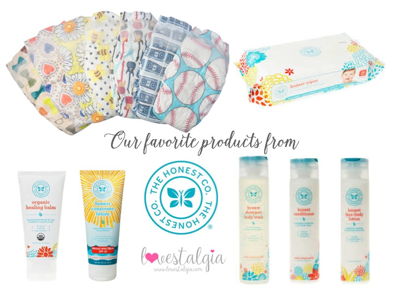 Our Favorite Honest Co. Products