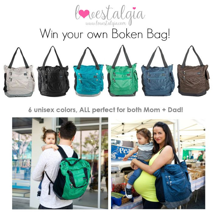 Boken Diaper Bag Giveaway!