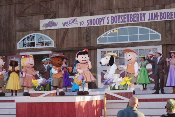Snoopy's Boysenberry Jamboree