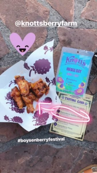Boysenberry Buffalo Wings
