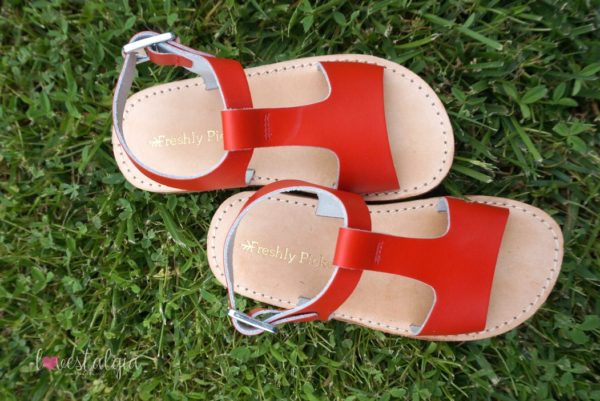 The Sandal by Freshly Picked