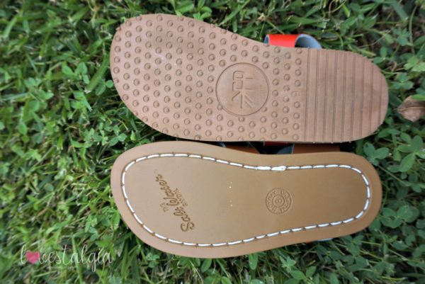 comparison of the Sandal by Freshly Picked
