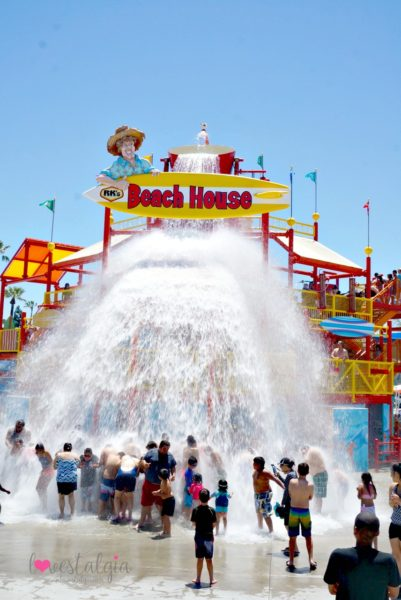 Knotts Soak City Beach House Water