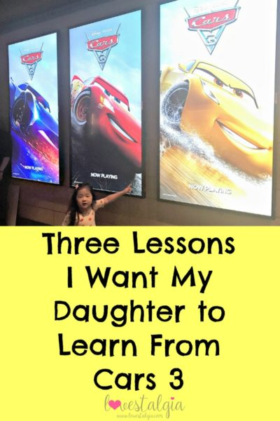 Cars3 Lessons Review