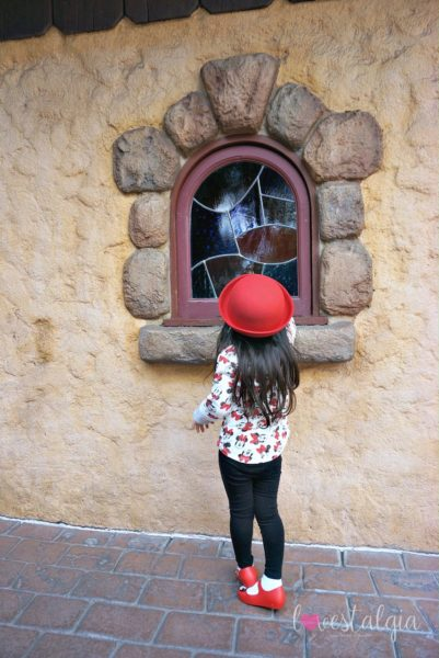 Window Disneyland best place to take pictures Instagram