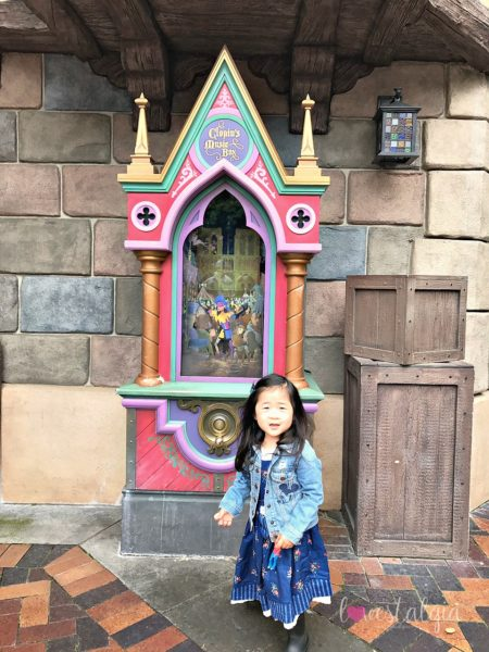 Clopin's Music Box Disneyland best place to take pictures Instagram