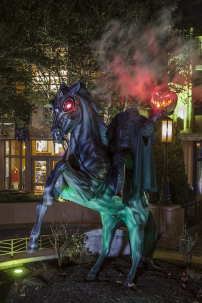 Headless Horseman Disney California Adventures Halloween Buena Vista Street