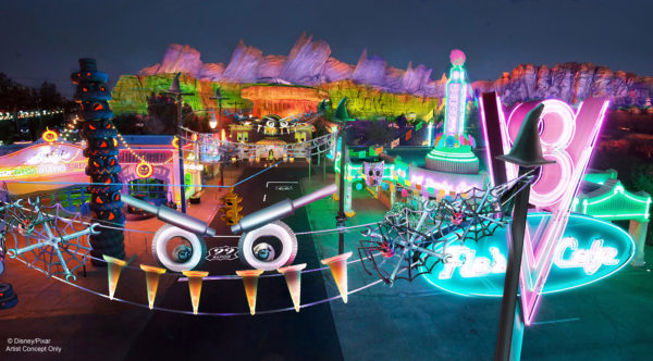 Disney California Adventures Cars Land Haul-o-Ween
