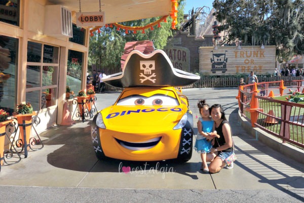 Disney California Adventures Haul-o-ween Halloween Cruz Ramirez Pirates Costume Cars Land
