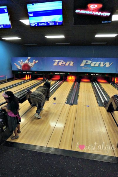 Great Wolf Lodge Ten Paw Alley Bowling