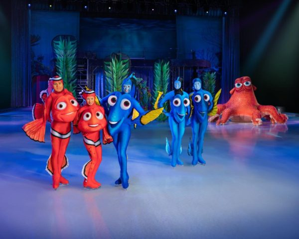 Disney on Ice Follow Your Heart Finding Dory