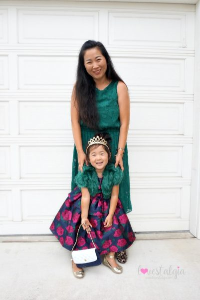 Janie and Jack Kids Fashion Rose Peplum dress holiday outfit mommy and me
