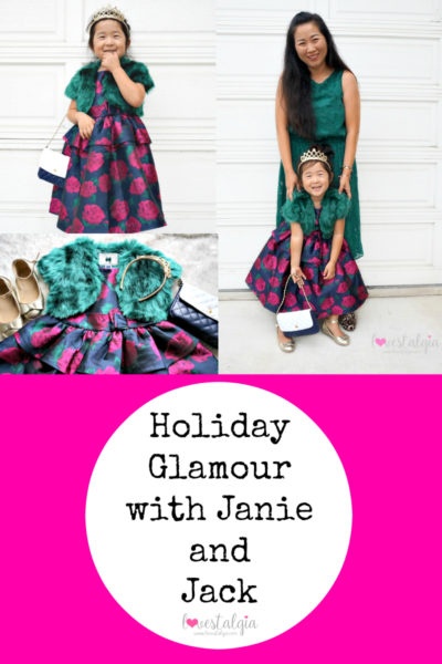 Janie and Jack Kids Fashion Holiday Dresses Mommy and Me Twinning