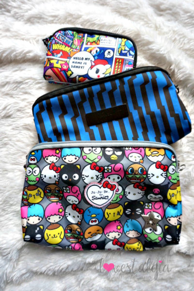 Ju-Ju-Be Hello Friends Sanrio Hello Kitty Electric Black Tokidoki Super Toki