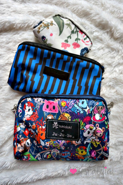 Ju-Ju-Be Tokidoki Sea Punk Electric Black Rosy Posy