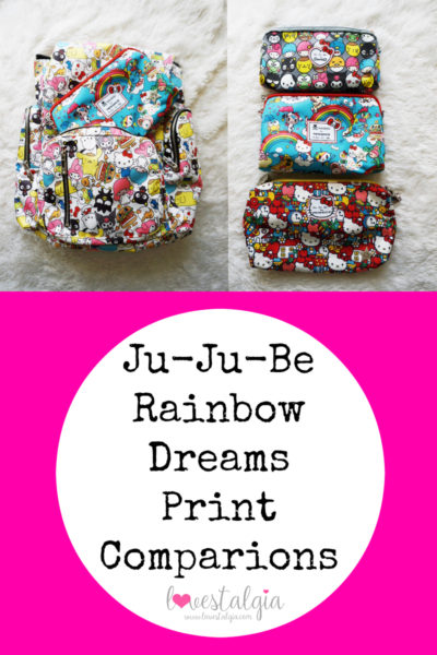 JuJuBe Rainbow Dreams Print Comparisons