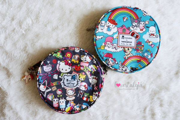 JuJuBe Rainbow Dreams Tokidoki Sanrio Hello Kitty Diaper Bags Dream World BeBop