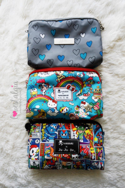JuJuBe Rainbow Dreams Tokidoki Sanrio Hello Kitty Diaper Bags BeSet Rad Hearts SuperToki