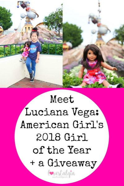 Luciana Vega American Girl Brand 2018 Girl of the Year