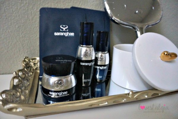 Saranghae Korean Skin care review K-beauty 5 step routine