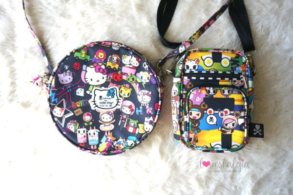 JuJuBe Sushi Cars Tokidoki Mini Helix Dream World Hello Kitty Be Bop