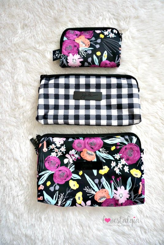 Ju Be Black And Bloom Gingham Style Print Comparisons Lovestalgia Jujube Coin Purse Hello Friends Comparison Floral Diaper Bag