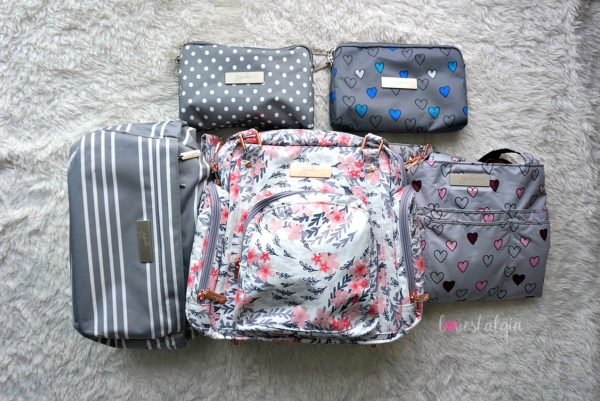 Jujube, Rose Collection, Be Supplied Breast Pumping Bag, Diaper Bag, Sakura Swirl, East Hampton Hobobe, Dot Dot Dot, Rad Hearts, Happy Heart Be Set, Print Comparisons