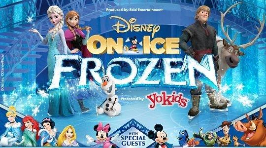 Disney on Ice Frozen Long Beach Arena Ontario
