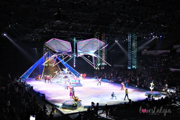 Disney On Ice, Frozen, Long Beach Arena, Mickey Mouse, Minnie Mouse, Disney Princesses