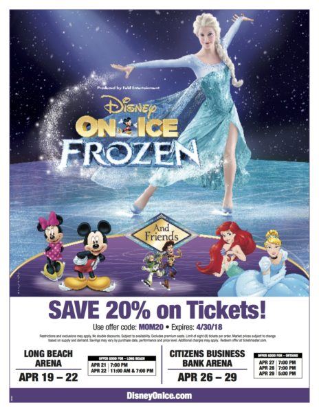 Disney on Ice Long Beach Arena Discount
