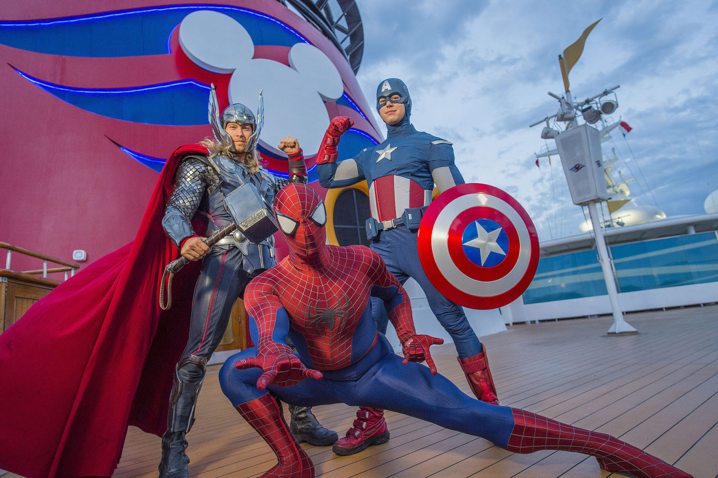 Disney Cruise Line Disney Signature Experiences Disney Beyond the Parks Marvel Day At Sea