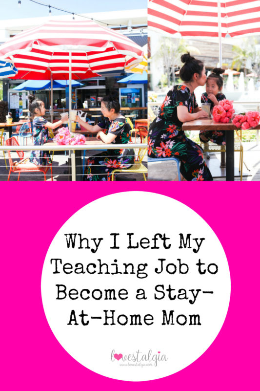 Teaching, stay at home mom, mommy blog, quit job for mother hood, mommy and me