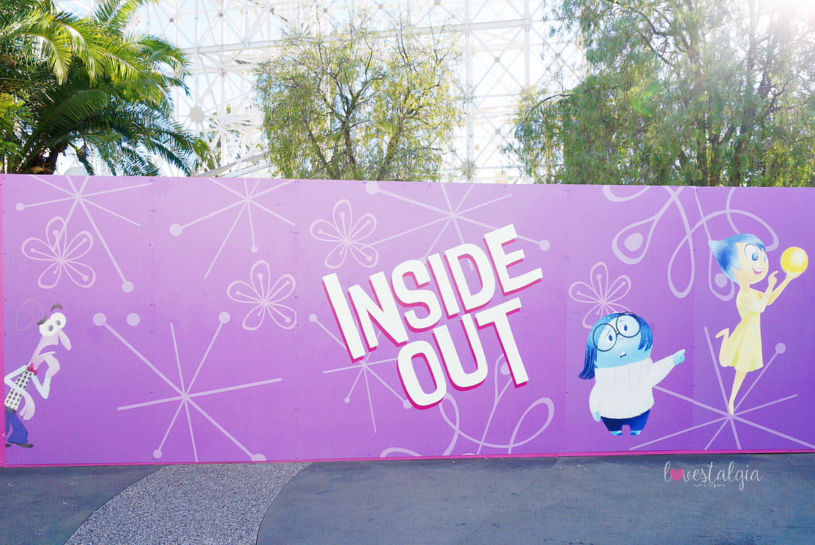 pixar pier, disneyland, disney california adventure, pixar fest, instagrammable photo op, instagram walls, pictures, inside out emotional whirlwind, inside out
