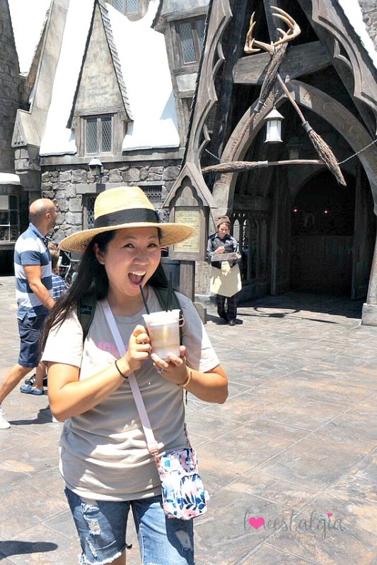 universal studios hollywood, wizarding world of harry potter, butter beer