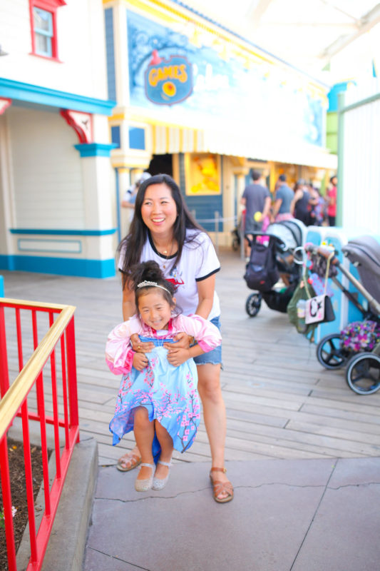 pixar pier, mommy and me, disneyland with kids, disneyland with preschoolers, pixar fest, pixar fest games
