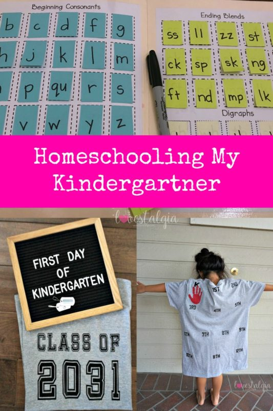 homeschooling, first day of school outfit, kindergarten, making words file folder, making words, language arts, letterboard, handprint shirt