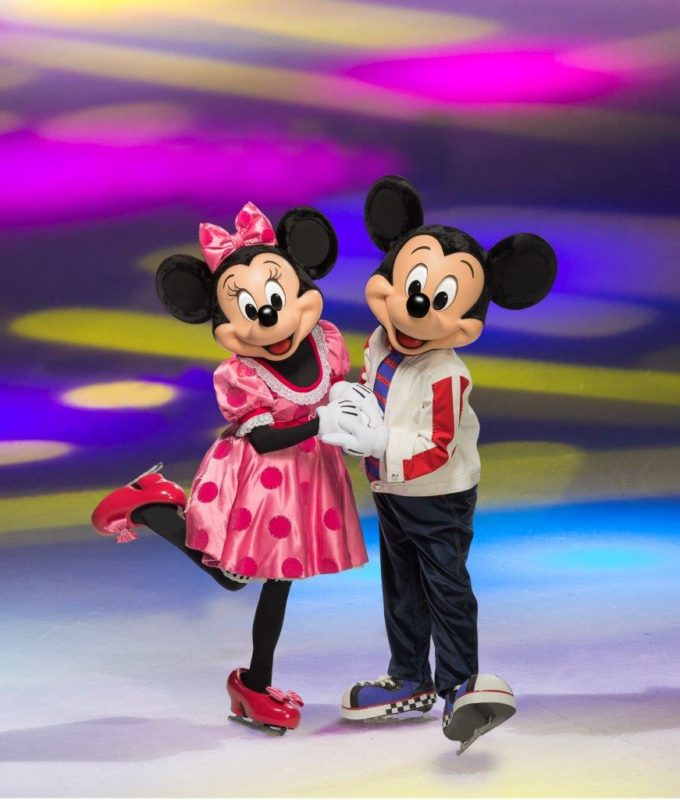 disney on ice, mickey and minnie, disney on ice dare to dream, honda center, ontario, long beach
