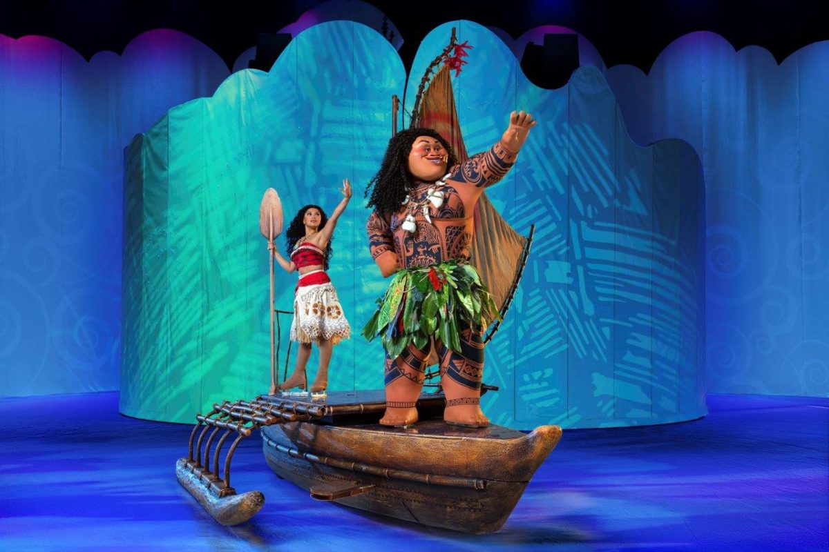 disney on ice, dare to dream, moana, maui