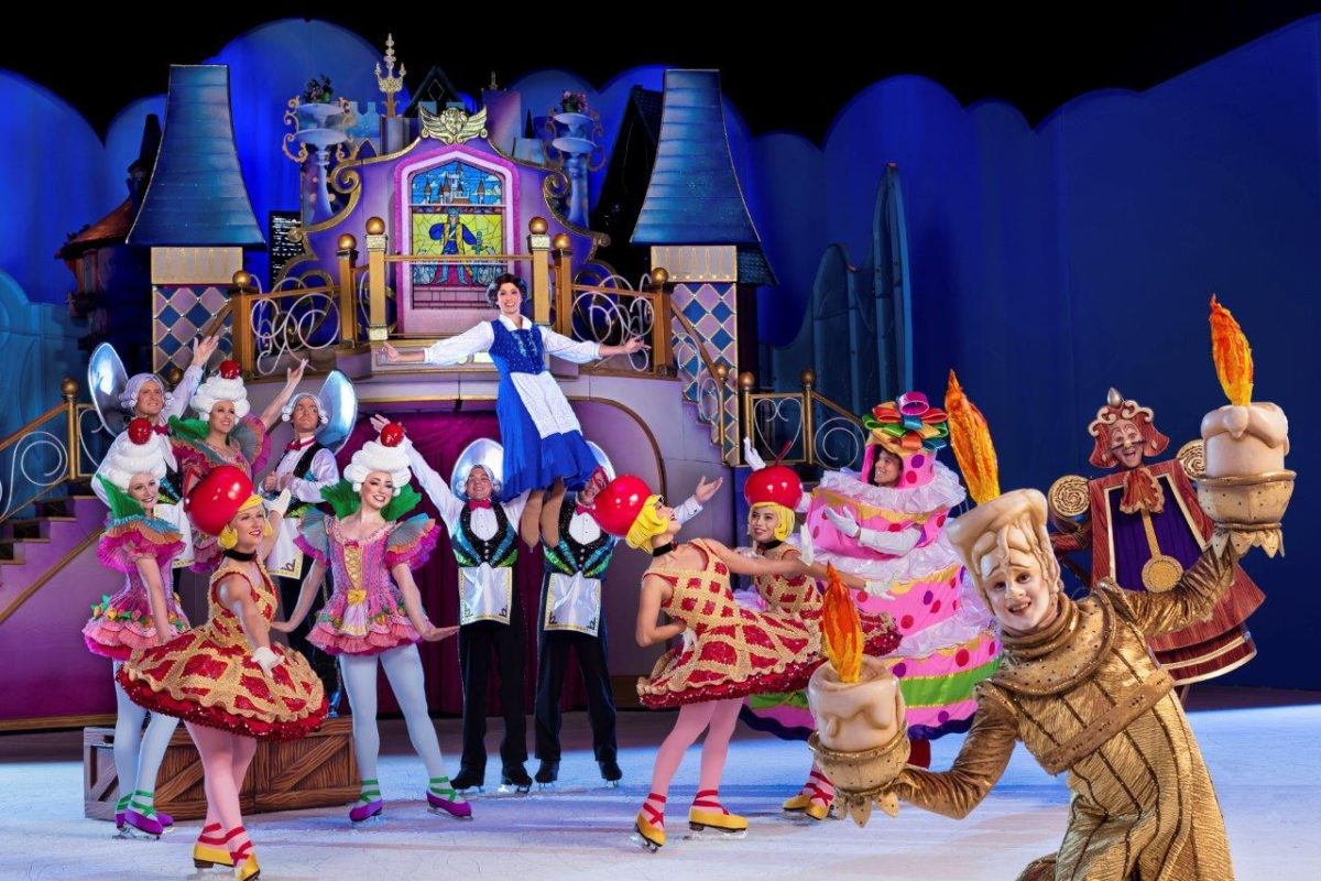 disney on ice, dare to dream, beauty and the beast