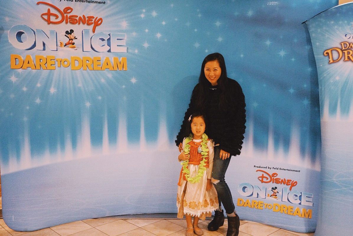 Disney on Ice, Dare to dream, honda center, mommy and me