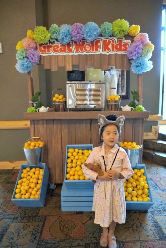 great wolf lodge, spring a palooza, family vacation, family of three, travel tips with kids, family of three, northwood's tea party, springtime activities, cookie decorations,