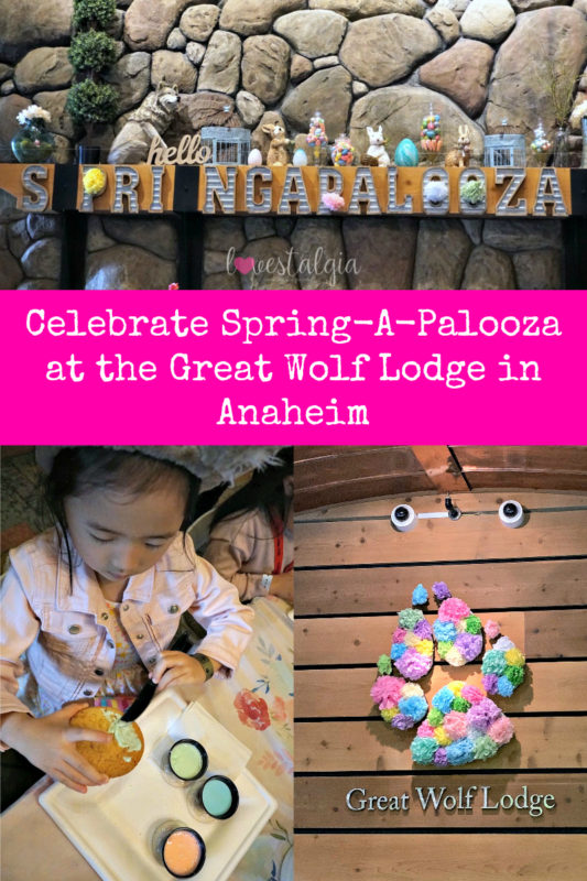 great wolf lodge, spring a palooza, family vacation, family of three, travel tips with kids, family of three, northwood's tea party, springtime activities, wiley wolf, character breakfast